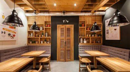 طراحی مدرن رستوران