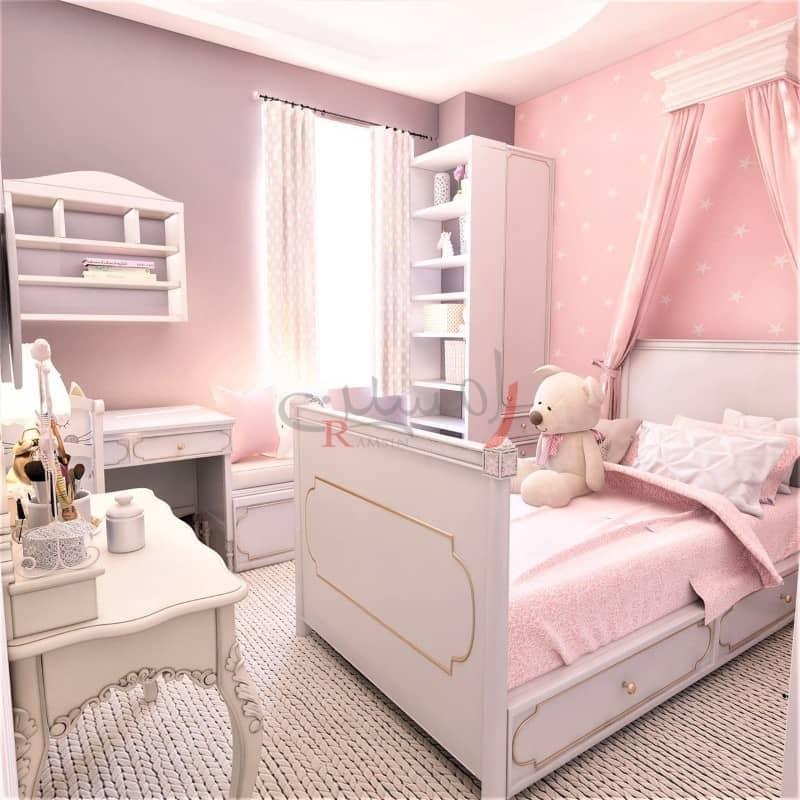 تخت در دکوراسیون اتاق خواب کودک