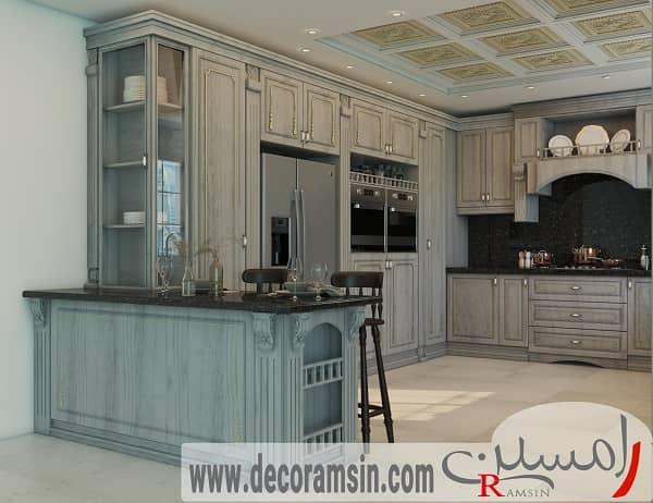 بازسازی کابینت های آشپزخانه