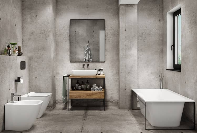 دکوراسیون سرویس بهداشتی و حمام مدرن