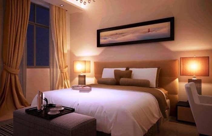 رنگ اتاق خواب زیبا