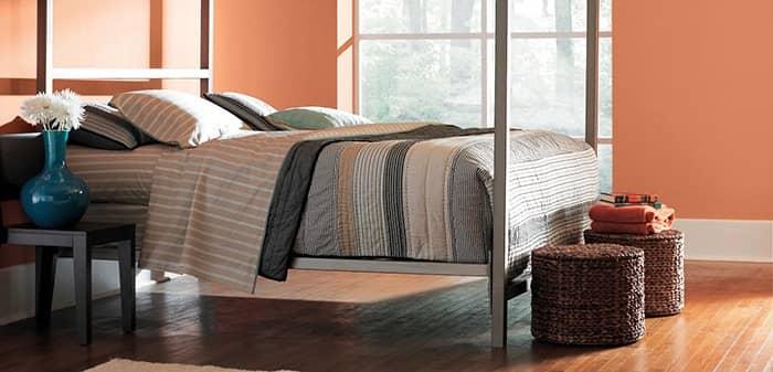 رنگ اتاق خواب خاکستری