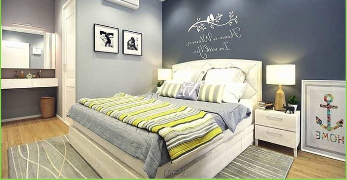 رنگ اتاق خواب زرد