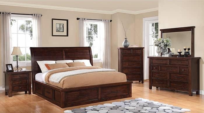 رنگ اتاق خواب قهوه ای کمرنگ