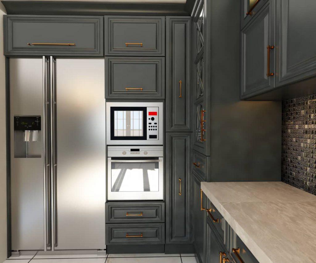 کابینت آشپزخانه مدل جدید شرکت رامسین