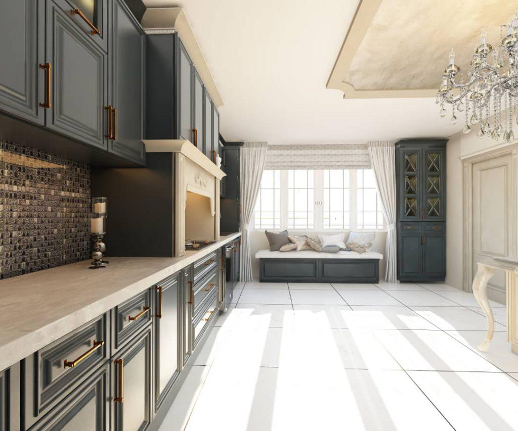 کابینت آشپزخانه زیبا شرکت رامسین