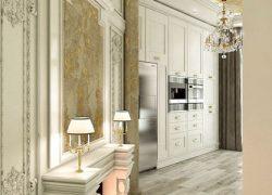طراحی داخلی و دکوراسیون آپارتمان سه خوابه ۲۰۰ متری