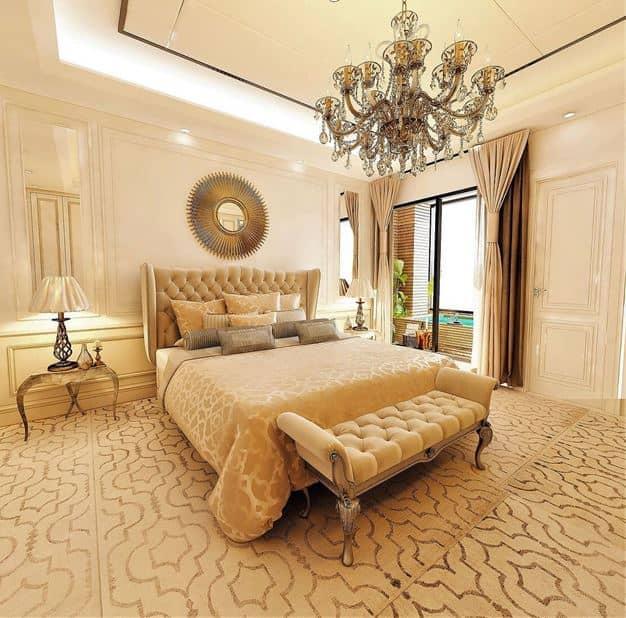 دکوراسیون نئوکلاسیک اتاق خواب