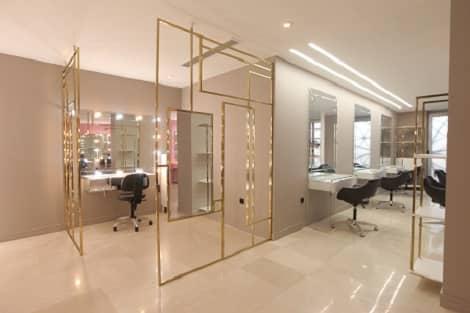 طراحی داخلی و اجرای سالن زیبایی ۱۷۰ متری
