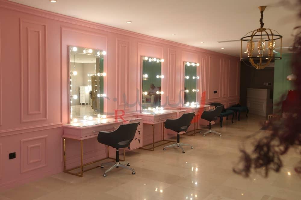 دکوراسیون آرایشگاه دکوراسیون سالن زیبایی تهران