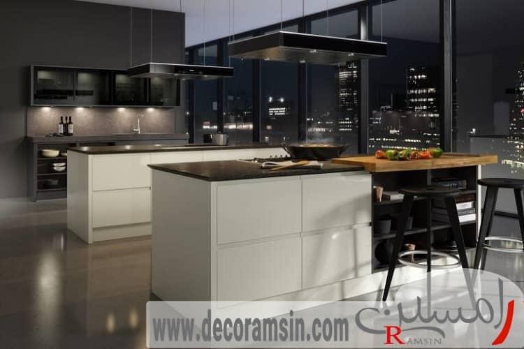 مدل-آشپزخانه-با-رن-تیره