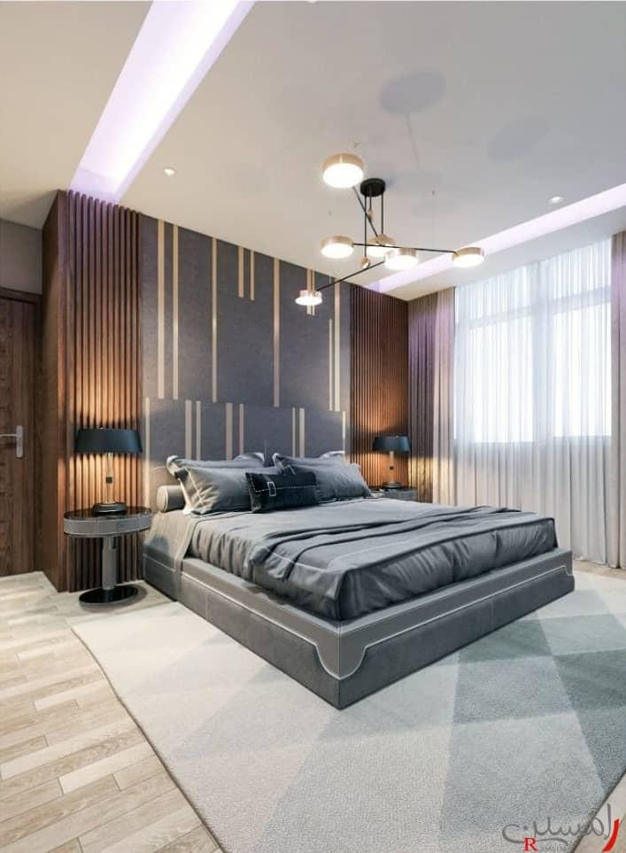 دکوراسیون اتاق خواب و تخت خواب مستر