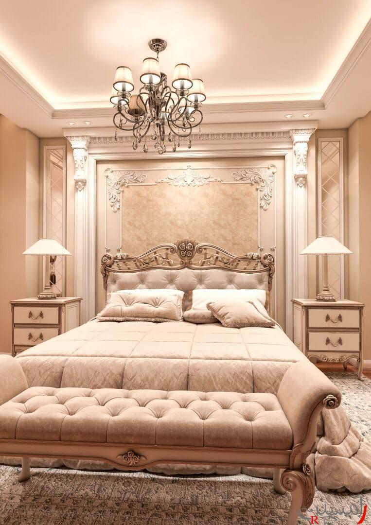 نورپردازی دکوراسیون داخلی اتاق خواب کرج