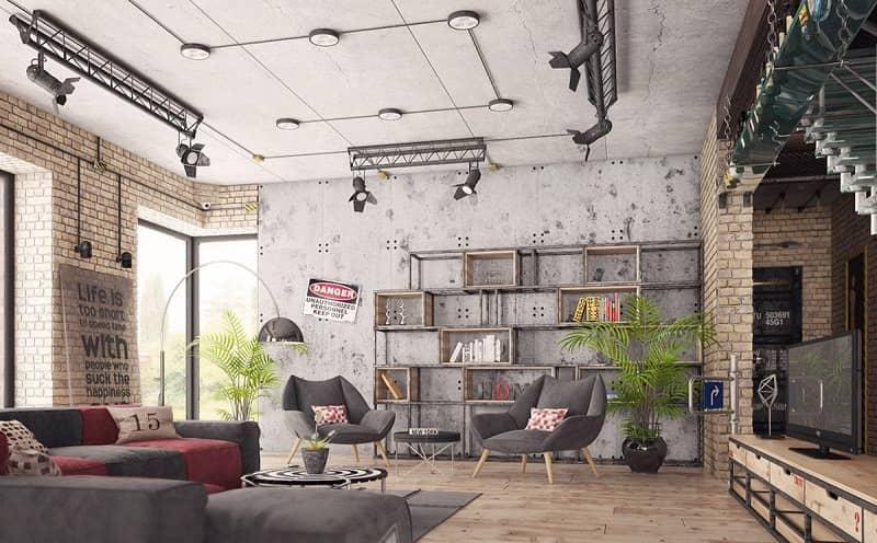 سبک دکوراسیون داخلی صنعتی Industrial interior decoration style