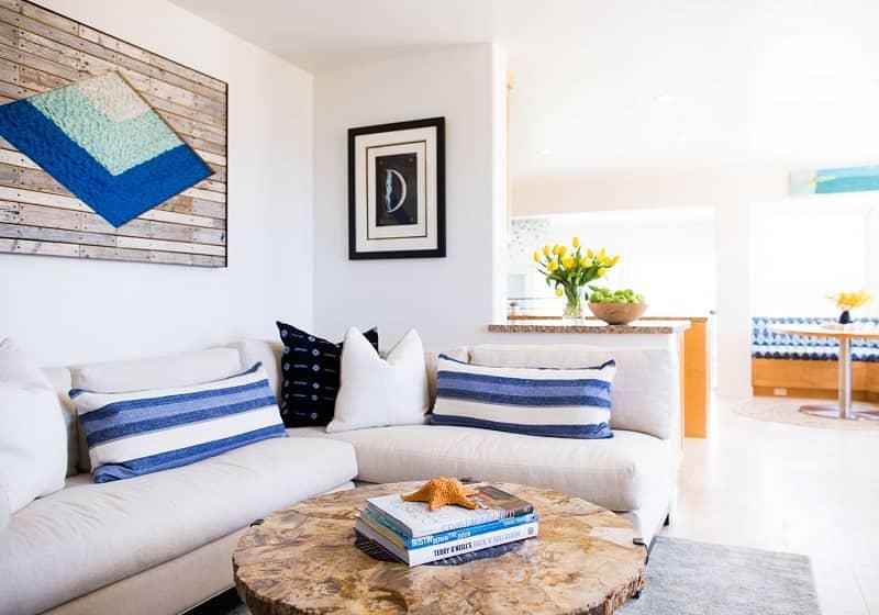 طراحی دکوراسیون داخلی سبک ساحلی (1)