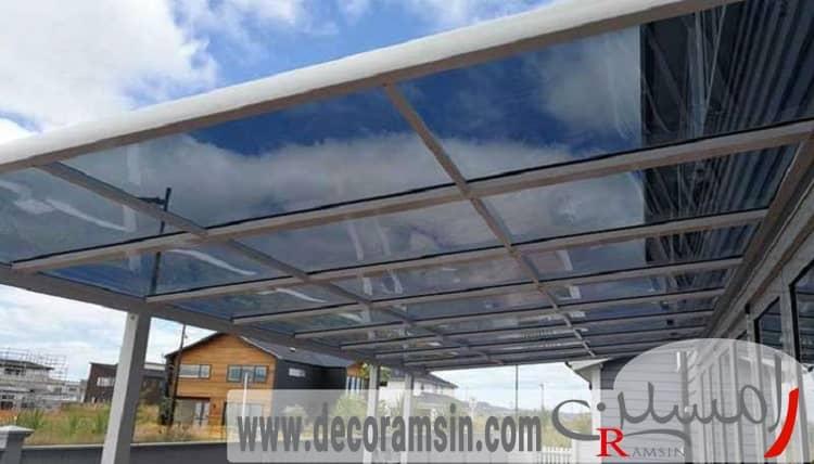 پوشش-سقف-پلی-کربنات-ساخت-ویلا