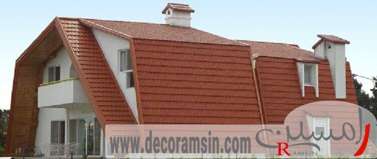 پوشش-سقف-ویلا-ساخت-ویلا