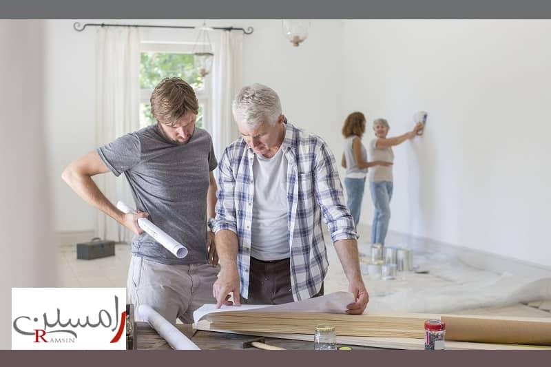 بازسازی منزل برای فروش یا اجاره شرکت دکوراسیون