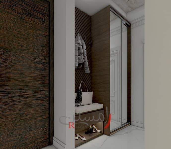 کمد لباس زنانه در اتاق خواب - طراحی دکوراسیون داخلی مدرن_new