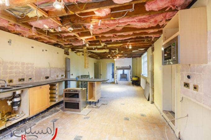 بازسازی آپارتمان و تعمییر زیر ساخت