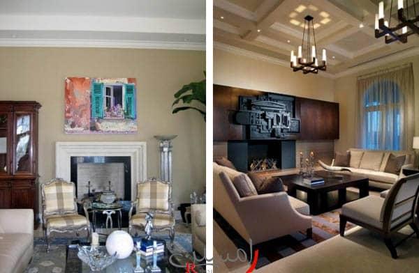 بازسازی آپارتمان و تغییر دکوراسیون رنگ کرم و چوب