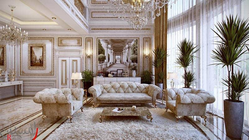 طراحی داخلی سبک کلاسیک