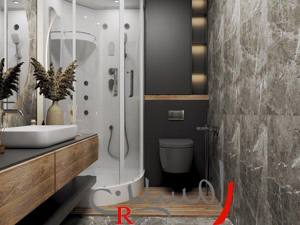طراحی و اجرای دکوراسیون در اتوبان بابایی حمام