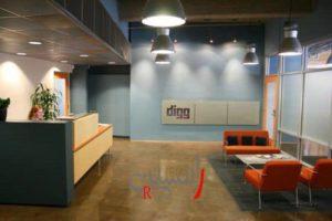 طراحی داخلی دفتر اداری و تجاری